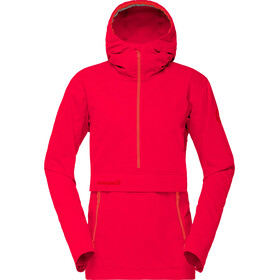 Norrøna Svalbard Cotton Anorak Women Crimson Kick
